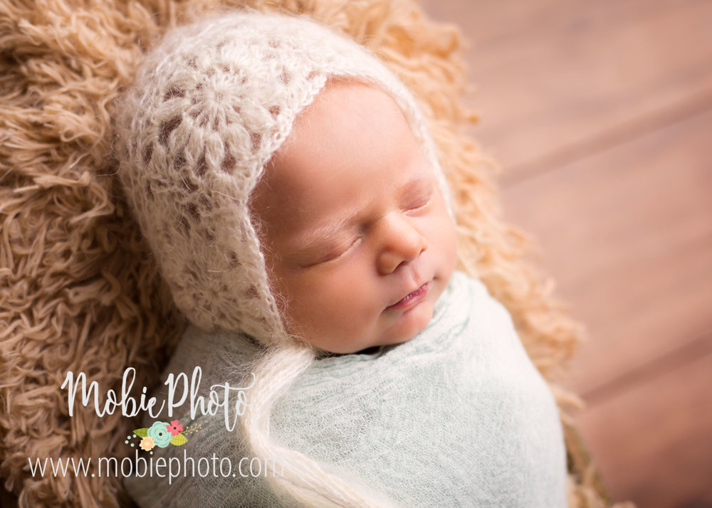 Lehi, Utah Newborn Photographer - Baby Girl Newborn Session