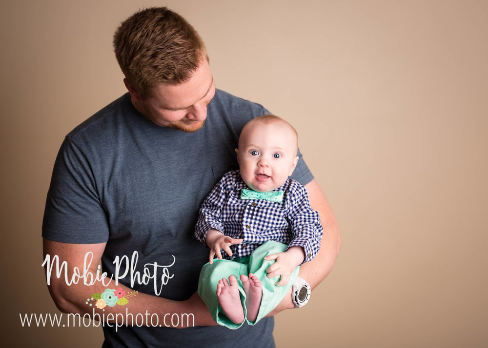 Mobie Photo - Lehi, Utah Baby Photographer - 6 Month Session