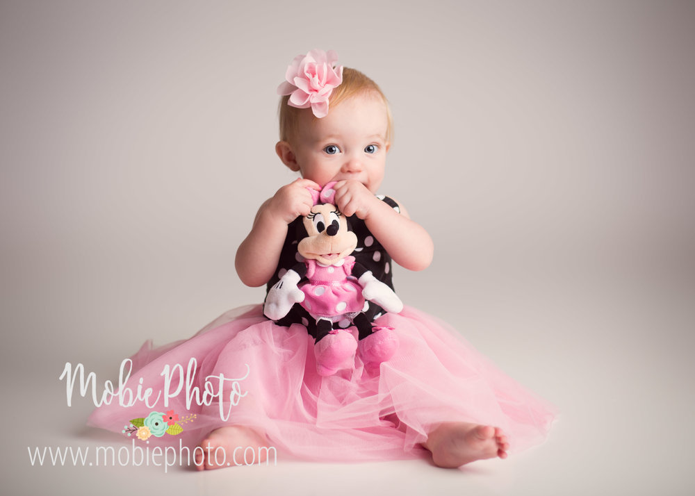 Utah Newborn Photographer - First Birthday Session