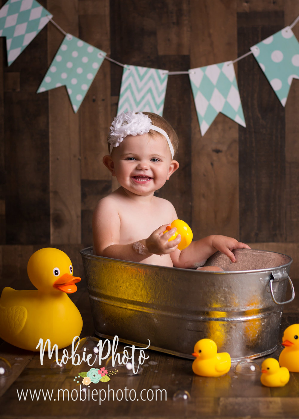 Utah Newborn Photographer - Milestone Paint Smash Session