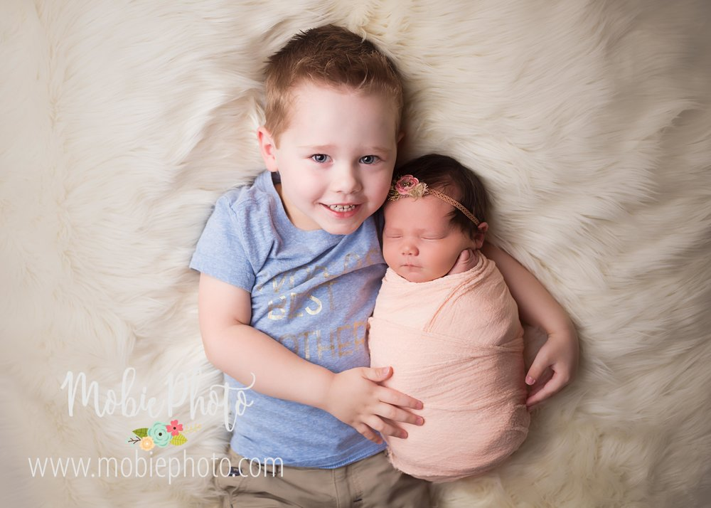 Full Studio Newborn Session at Mobie Photo - Utah Newborn Photography