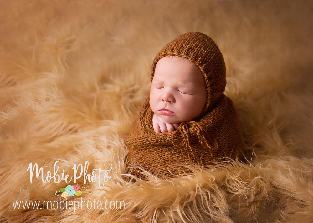 Newborn Baby Boy Photo Session - Mobie Photo - Utah Newborn Photographer