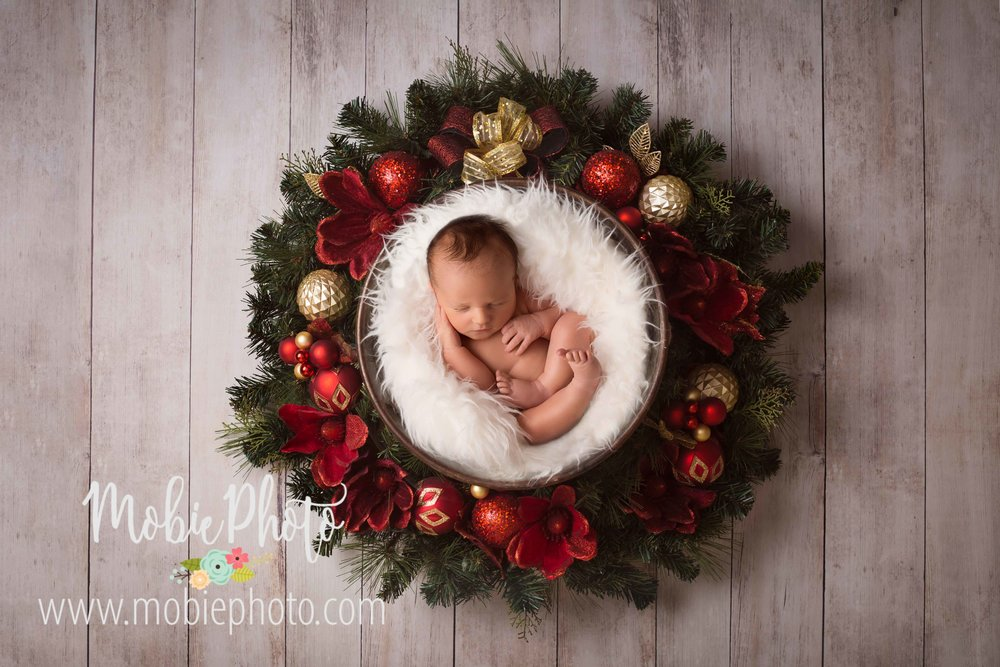 Newborn Baby Boy Photo Session - Mobie Photo - Utah Newborn Photographer