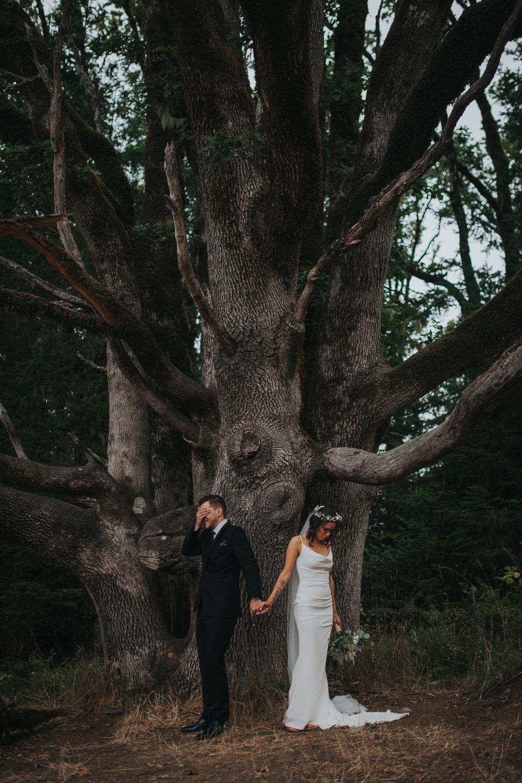 Adventurous Forest Wedding // Corvallis, OR