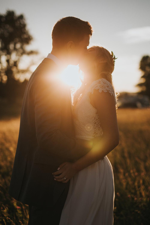 Intimate Backyard Wedding // Ellensburg, WA