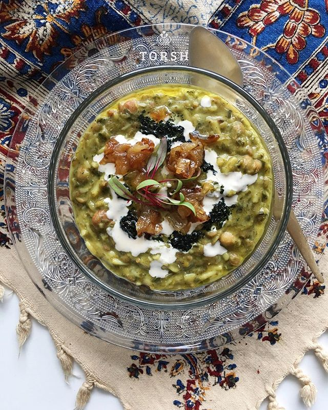 Persian comfort food to keep you warm #aash #CanadianWinterRemedy