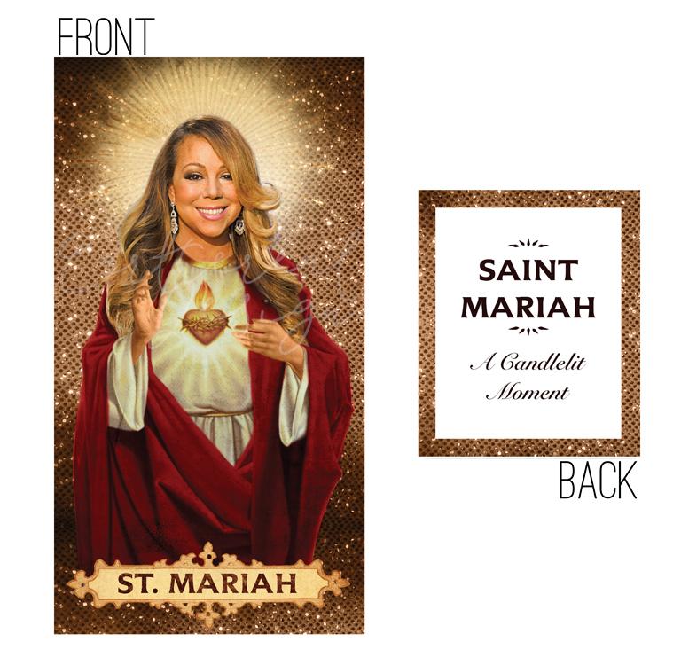 Mariah Carey Prayer Candle