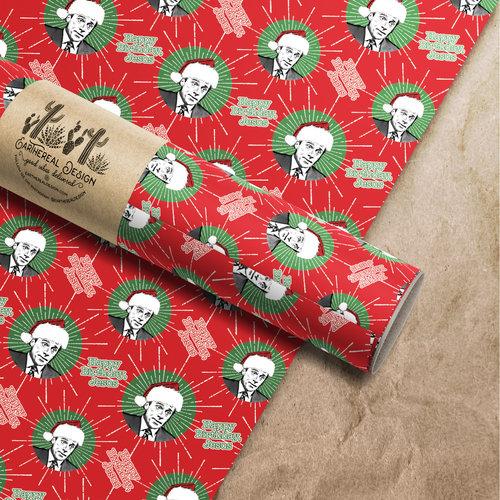Happy Birthday Jesus Michael Scott Wrapping Paper