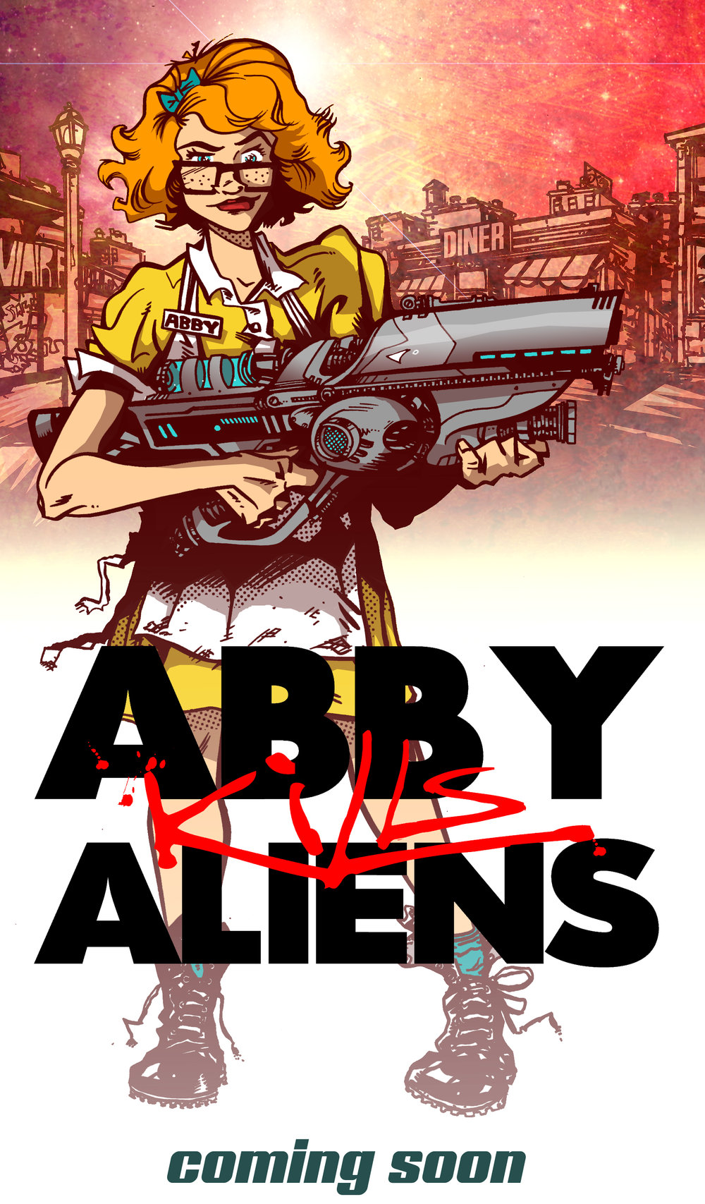 Abby Kills Aliens