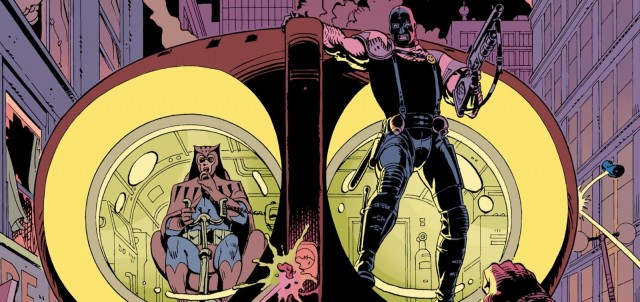 Panel from WATCHMEN written by Alan Moore illustrated by Dave Gibbons, DC COMICS
