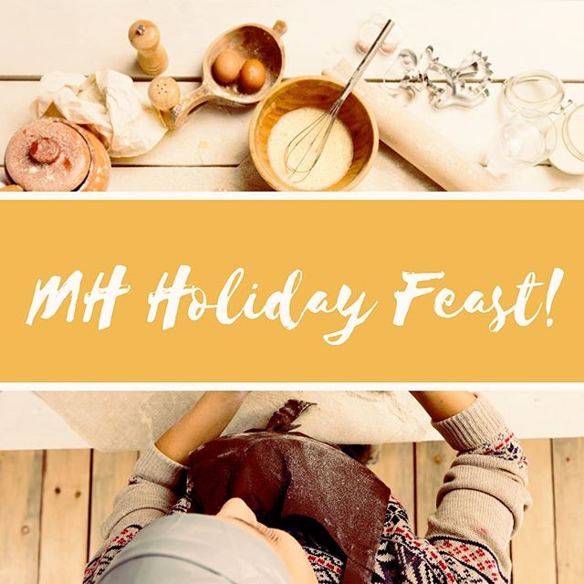 DON'T FORGET! Our Church wide Annual Holiday Feast is tonight! It all starts at 6:30 at the Civic Center! Come prepared to eat lots of yummy food and to meet and fellowship with our whole congregation! Hope to see you all there!