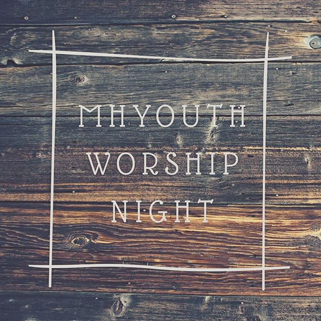 We are so excited to be back with you guys tonight!! We'll kick it off with worship and prepare our hearts to receive the Word and all that the Lord has to say to us! Invite your friends! Let's fill that place and make much of Him! See you there!