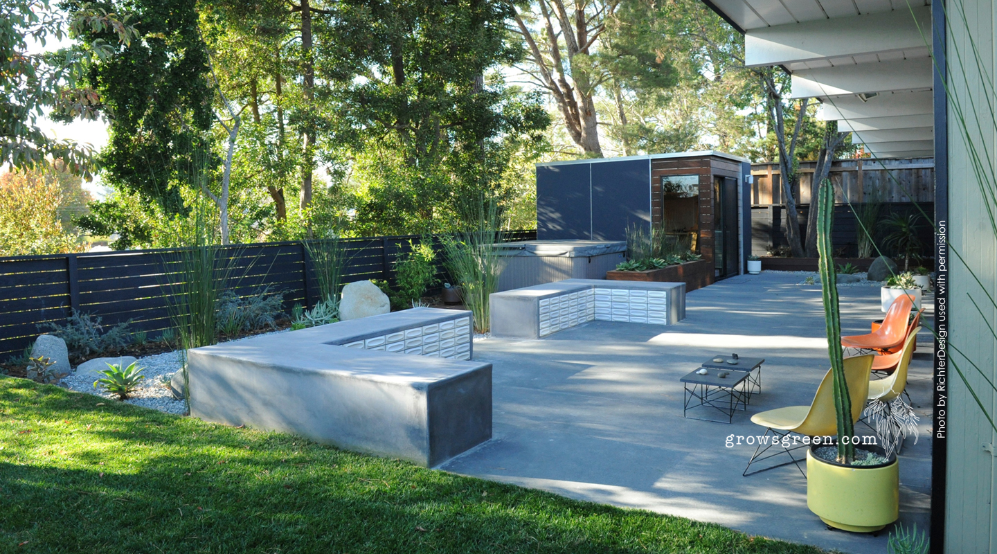 garden design landscaping. Eichler Garden Design Growsgreen Landscape