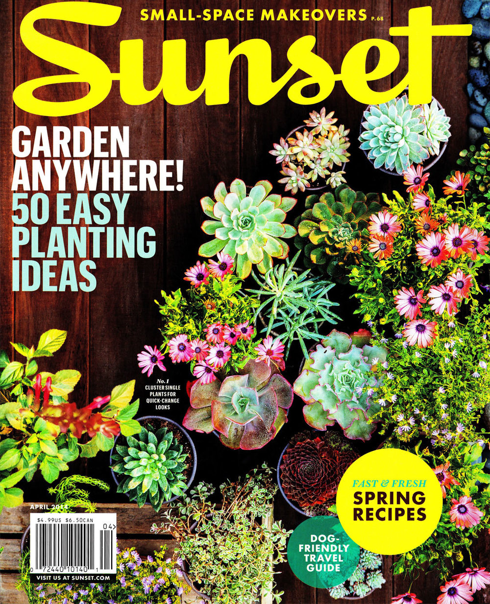 Sunset Magazine April 2014