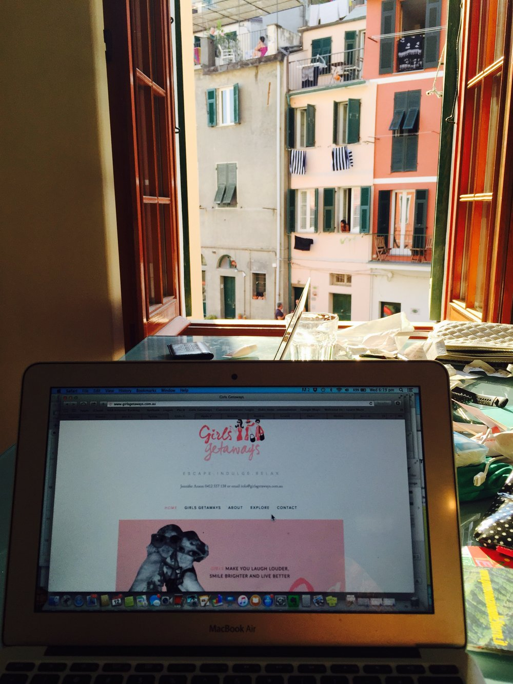 GG at Work in Italy