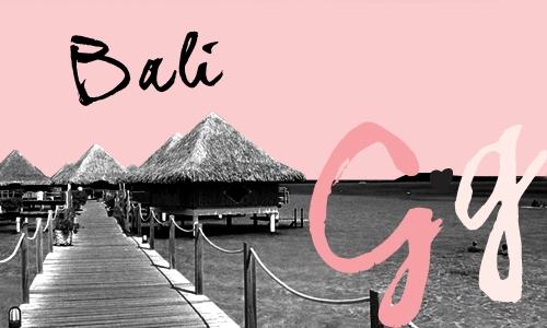Bali Girls Getaways