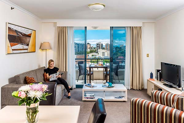 Oaks On Castlereagh Hotel in Sydney CBD 1 Bedroom Apartment.jpg