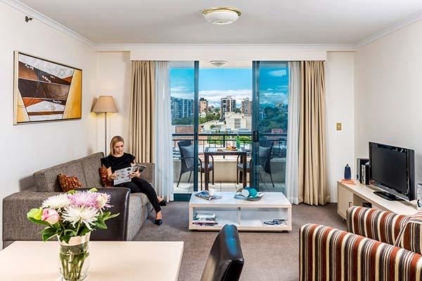 Oaks On Castlereagh Hotel in Sydney CBD 1 Bedroom Apartment.jpg