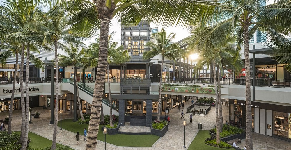 Ala Moana Centre, Oahu