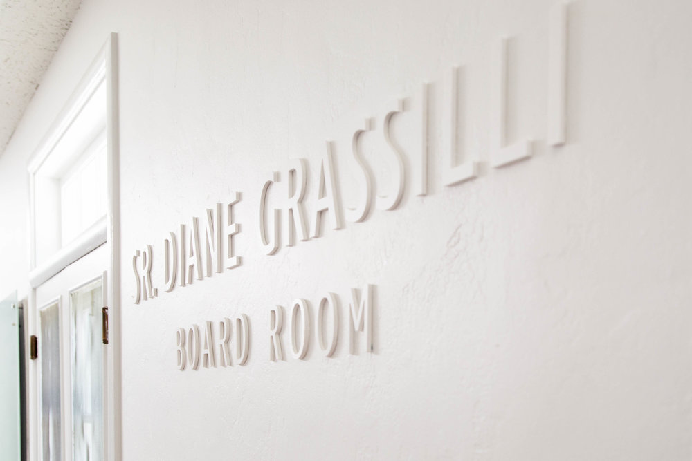 SR DIANE GRASSILLI BOARD ROOM
