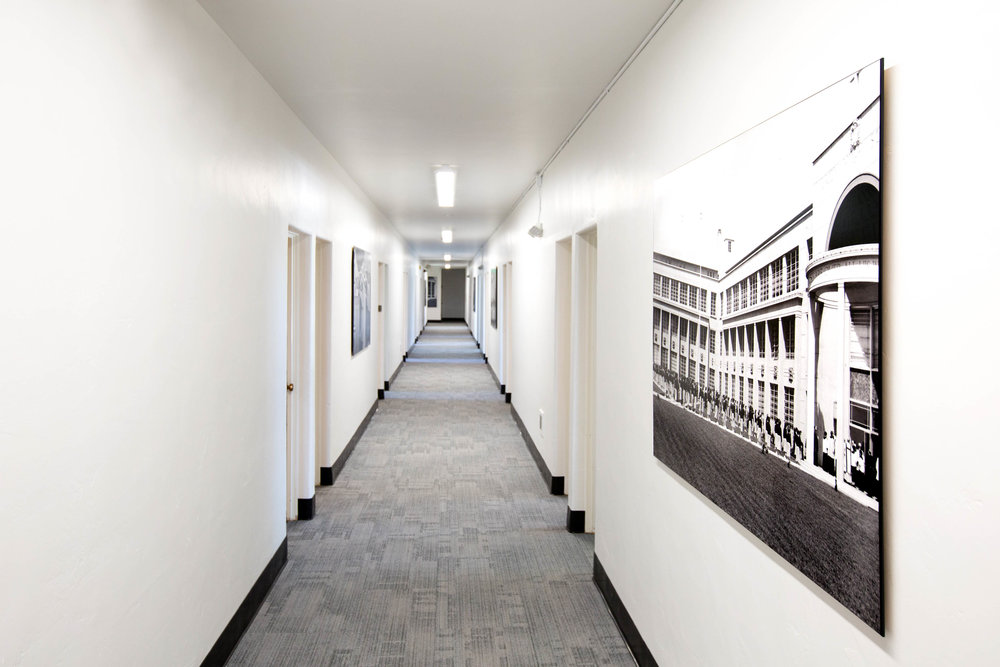 AFTER - ADMINISTRATIVE HALLWAY