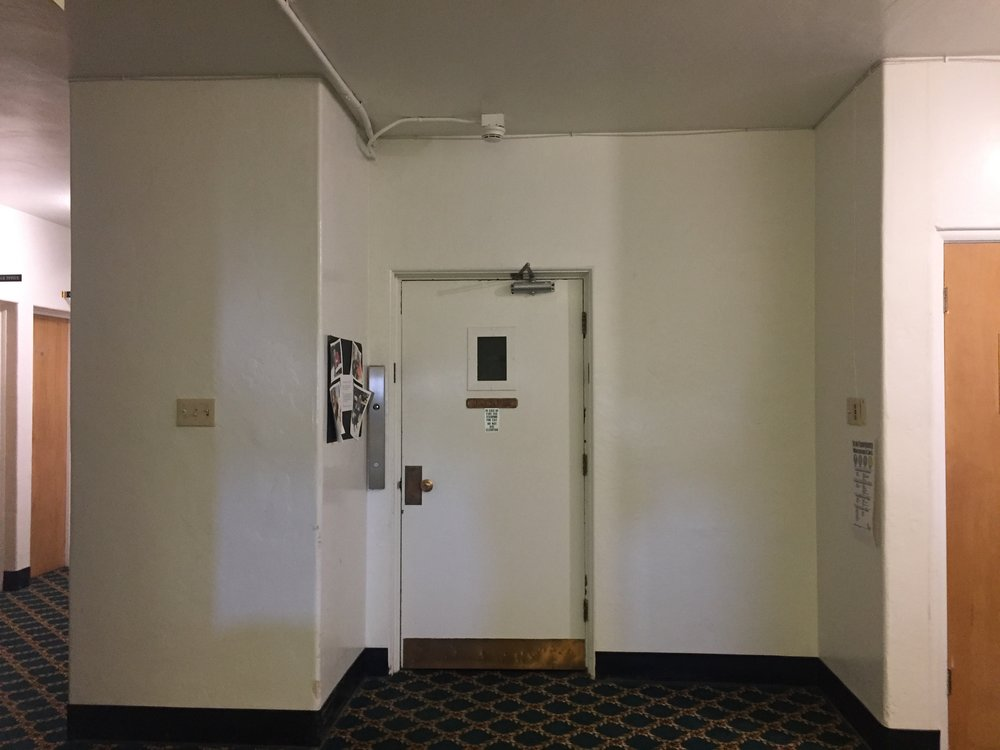 BEFORE - 4TH FLOOR ELEVATOR