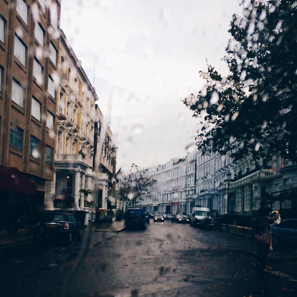 Ah more rain.