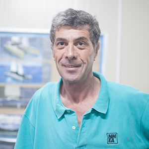 Riccardo Marton - MECHANICAL MANAGER Riccardo joined the HYM team in 2012 after a successful 12 year boat building stint in South Africa. Ricardo was the mechanical systems manager on the Gunboat 60 projects and now oversees all mechanical operations for the HH line.