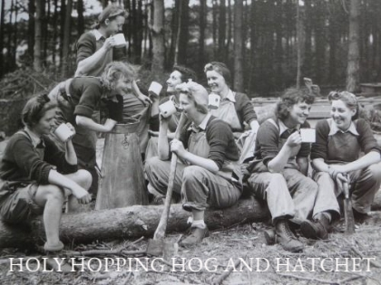 $149 PP - HOLY HOPPING HOG AND HATCHET IS FOR THOSE WHO WANT IT ALL... AND MORE!   Image source: Unknown