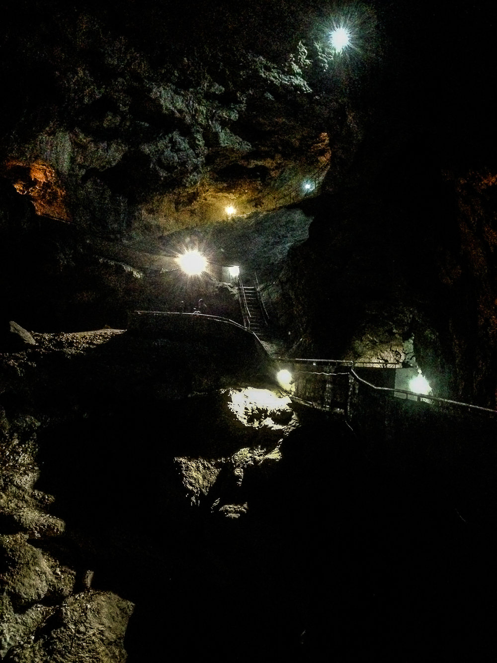 The Descent into the Underworld. The Dyavolsko Garlo, or Devil's Throat in Bulgaria's Rhodope Mountains.