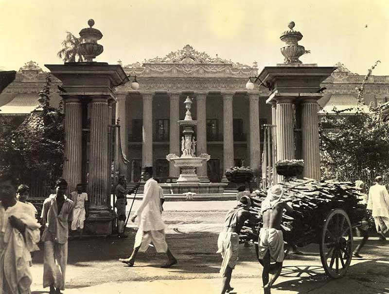 Marble Palace in its heyday.