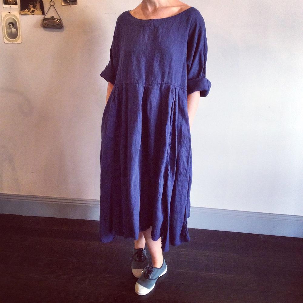 Camille Linen Dress $289