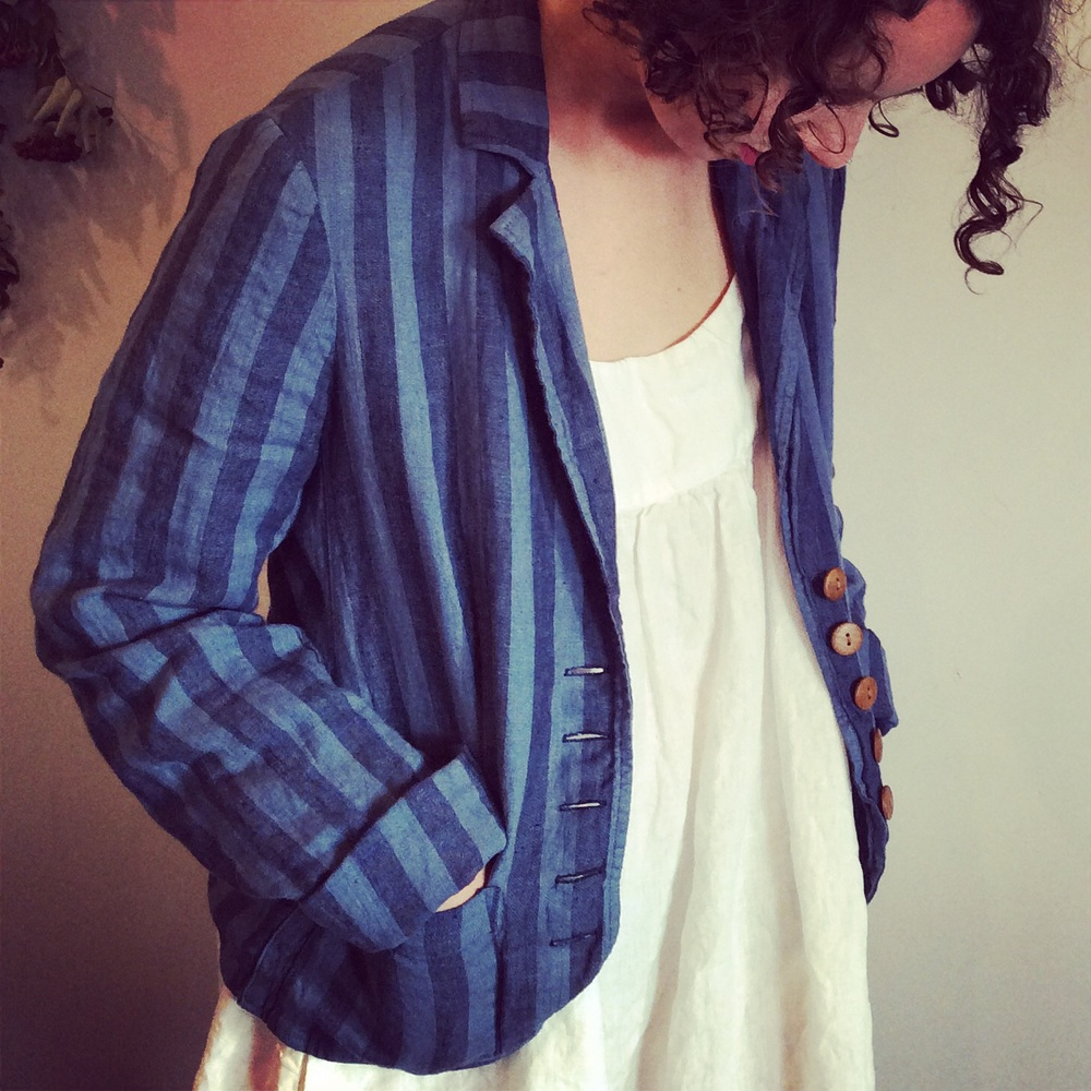 Riviera Linen Boating Jacket $320