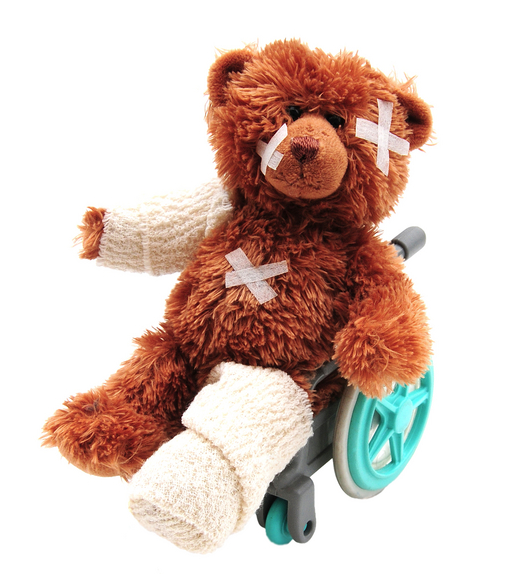 teddy in casts