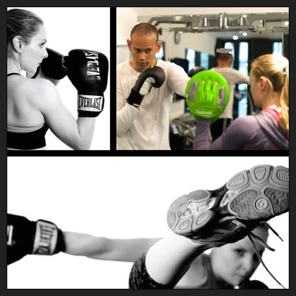 Precision Movement boxing and kickboxing training