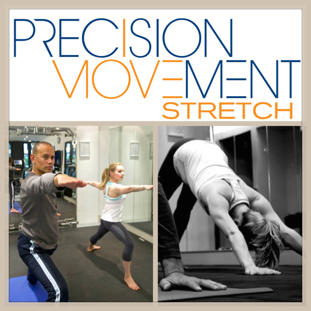 Precision Movement Stretch dynamic flowing yoga based movement
