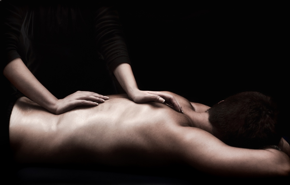 Erotic massage for man by man