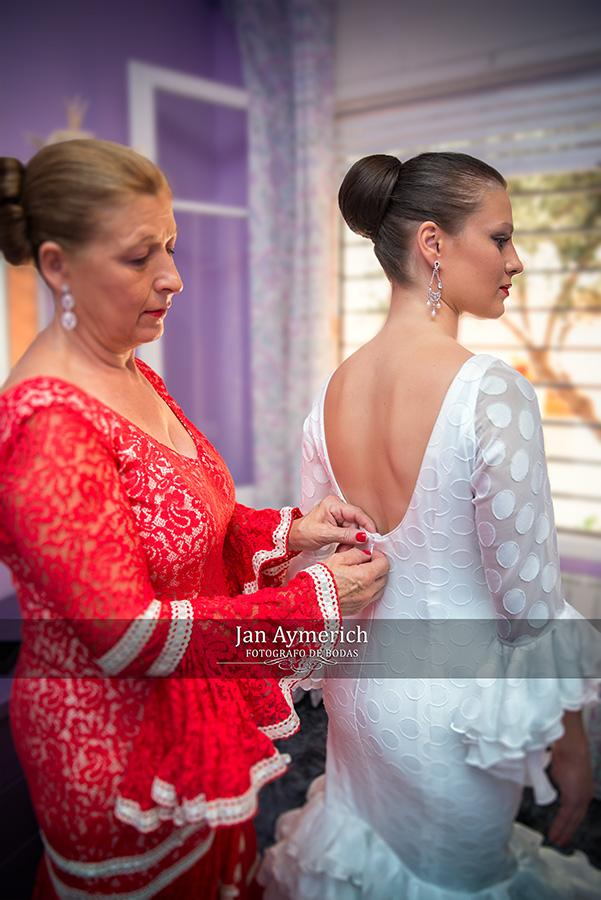 preparacion de la novia