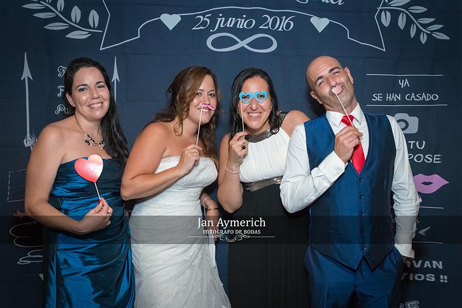 bodas photocall
