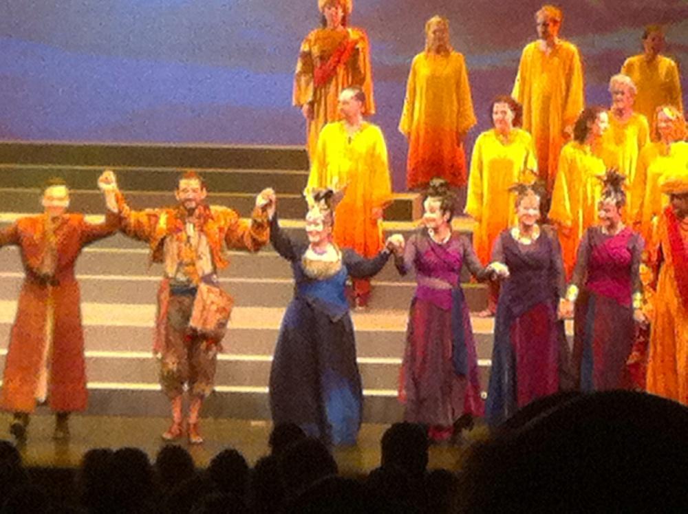 Die Zauberflote final curtain!