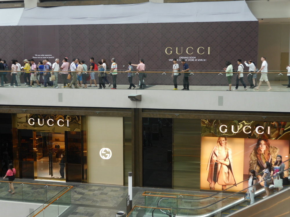 A single story Gucci is obviously insufficient to keep up with demand. Check back soon!