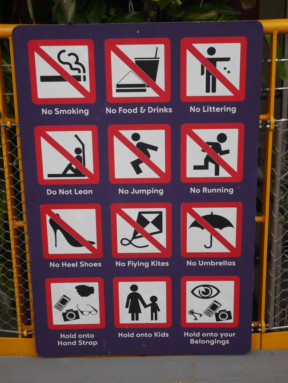 This is Singapore, and we have rules here.
