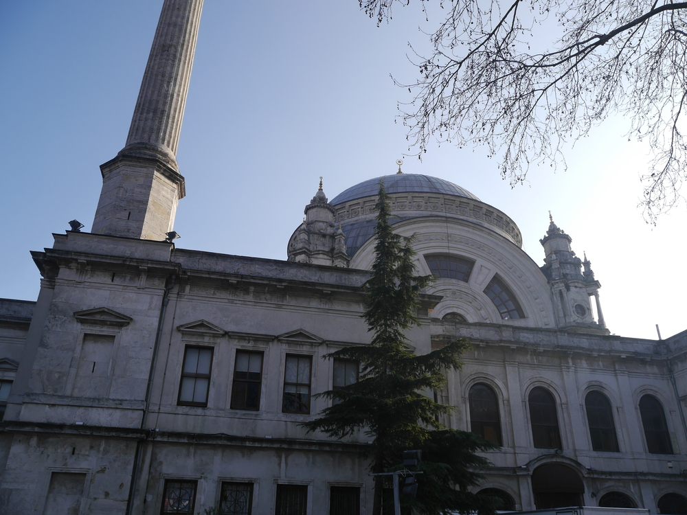Dolmabahçe Mosque .