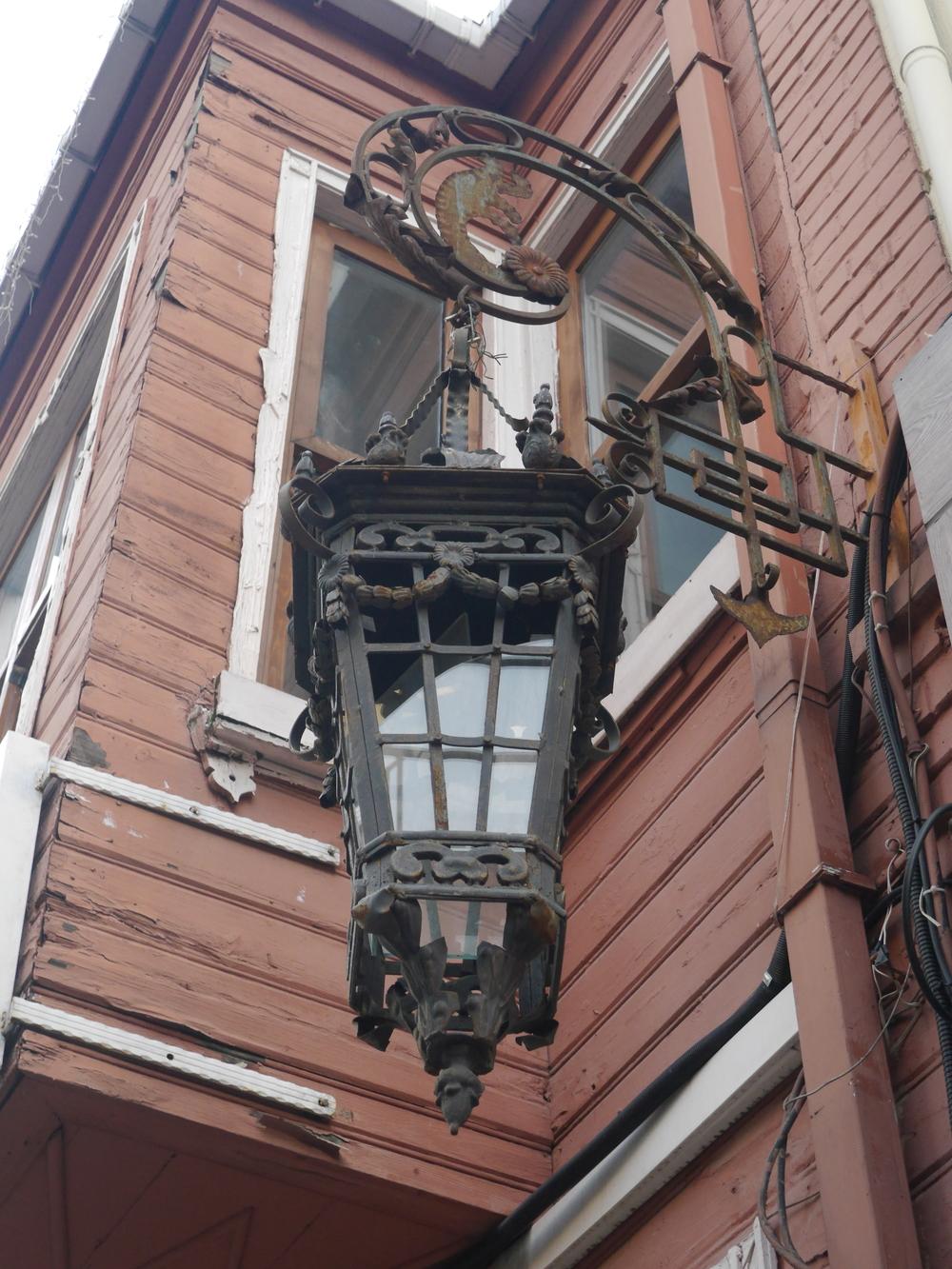 A cool old lantern.