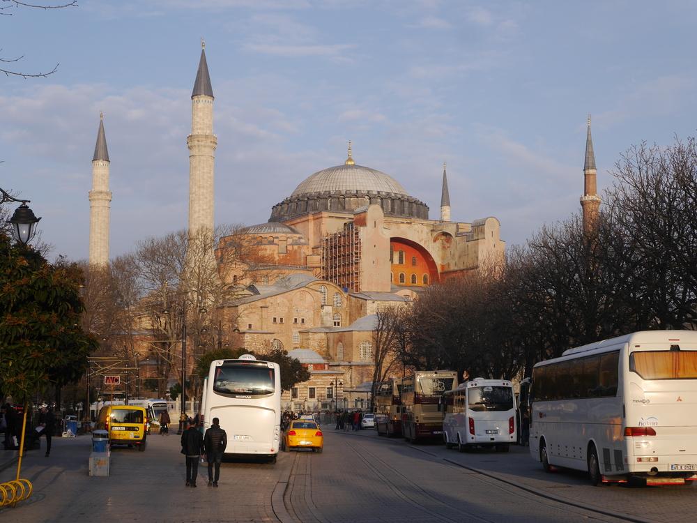 One more shot of the Hagia Sofia.