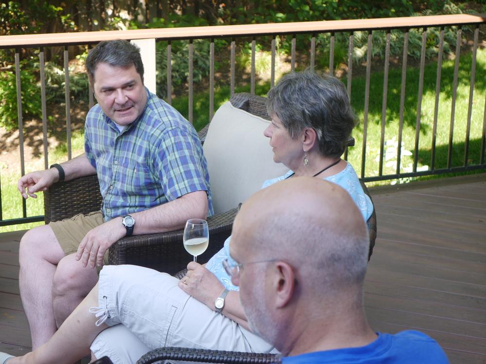 Brad, Martha, and dad.