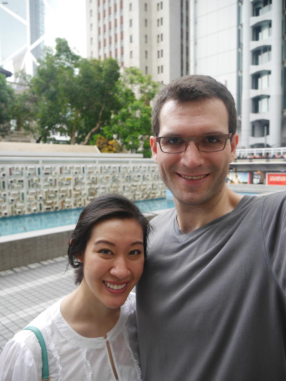 Statue Square selfie!