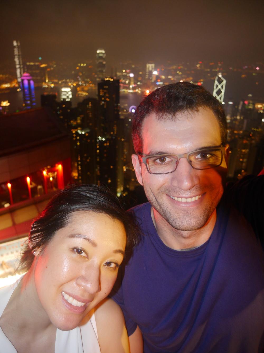 Victoria Peak selfie!