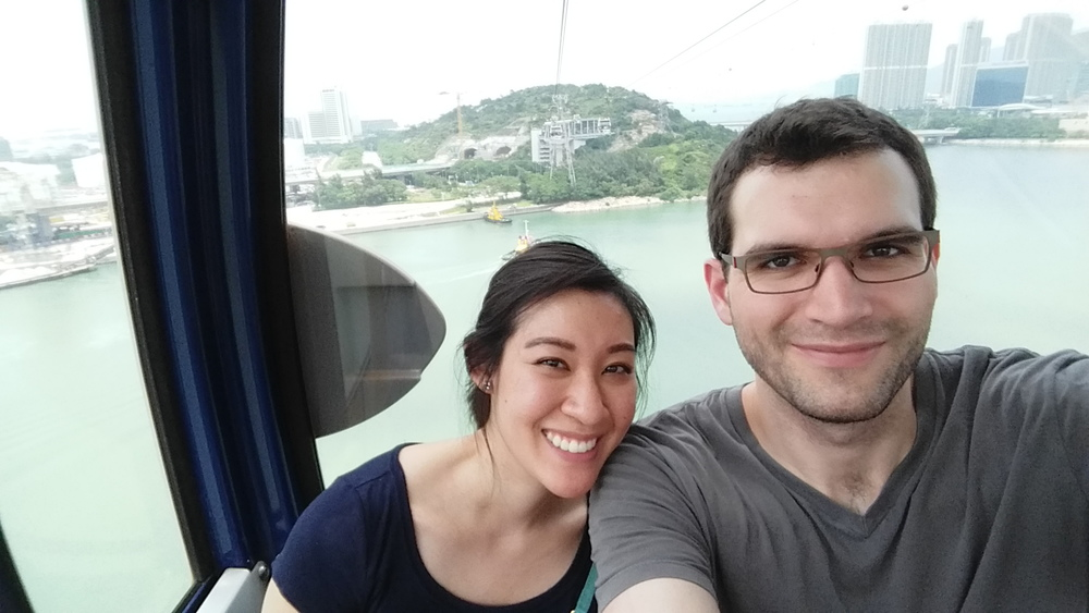 Cable car selfie III.