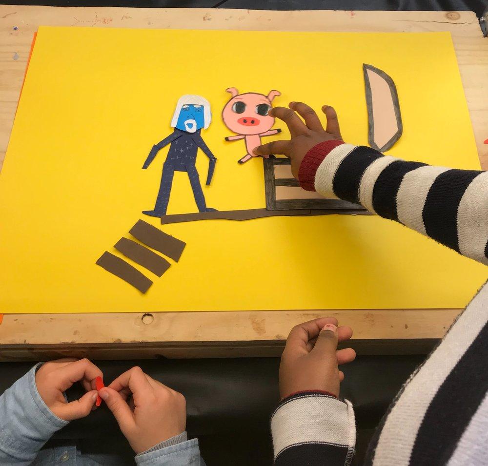 Animation workshop by Unga Berättar